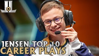 Jensen Top 10 Career Plays | Lol esports