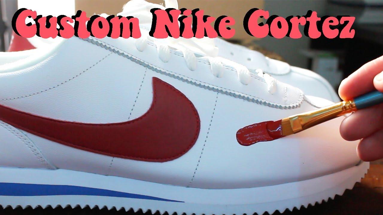 CUSTOM Nike Cortez Forrest Gumps