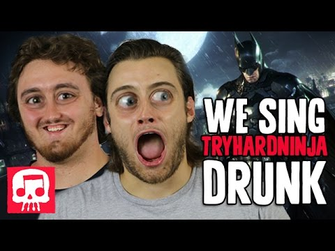"Skull and Pat Sing a Tryhardninja Song Drunk (Batman Song Cover - ""A Hero Forms"")"