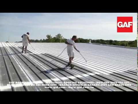 Gaf Topcoat Liquid Applied Roofing Membrane How To Guide