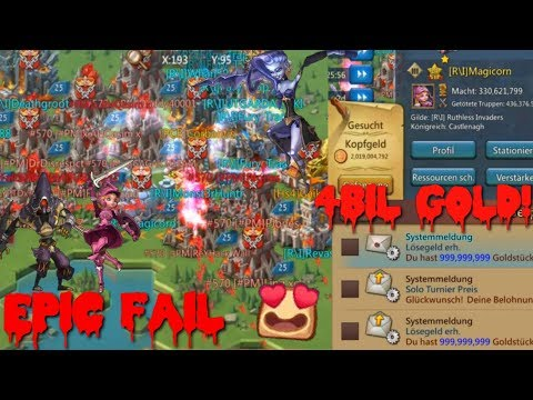 KvK 1 Bil Players Attack Us (4 Billion Gold Loss!) | Lords Mobile