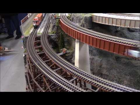 Mid Ohio Valley Model Railroad Club O scale layout