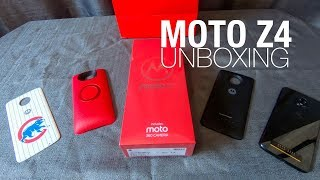 MOTO Z4 Unboxing and First Look!