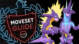 How to use TOXTRICITY! Toxtricity Moveset Guide! Pokemon Sword and Shield! ⚔️🛡️