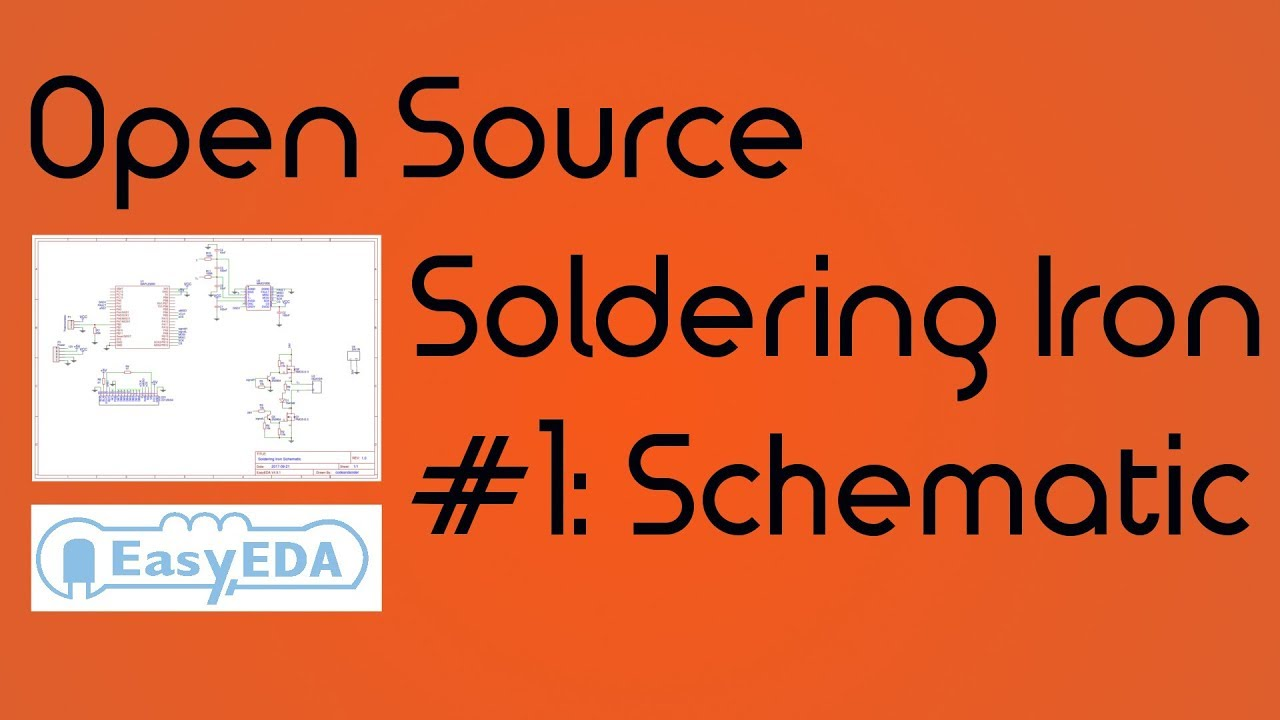 DIY Soldering Station #1 - Circuit Design with EasA - YouTube on printed circuit board schematics, electronics schematics, engineering schematics,
