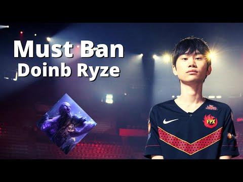 Must Ban Champion - Doinb Ryze | Best Doinb Montage
