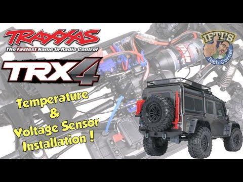 #02 Traxxas TRX-4  - Installing Traxxas Link + Temperature & Voltage Sensor : INSTALL GUIDE