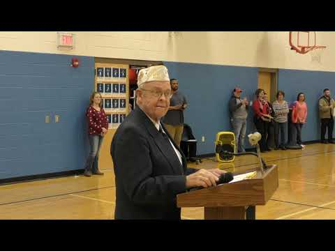 Edgemont Primary Students Honor Veterans (1-2)