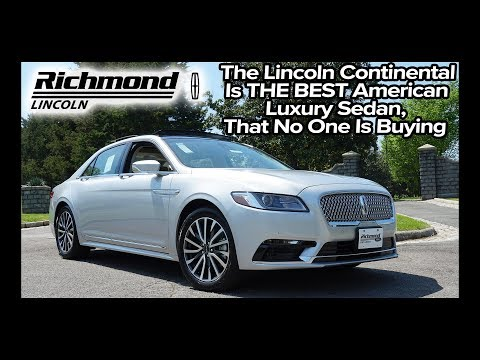 2019 Lincoln Continental Review: Here's What You Are Missing!