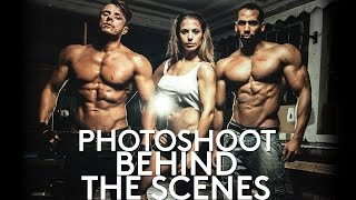 Скачать Behind The Scenes On A Fitness Photoshoot FIGHT CLUB With Anastasia Parikos And Ryan John Baptiste