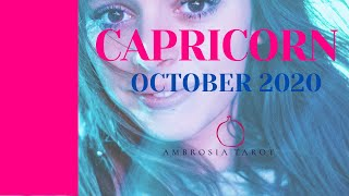 "Capricorn ""A wall"" Tarot Love Reading October 2020"