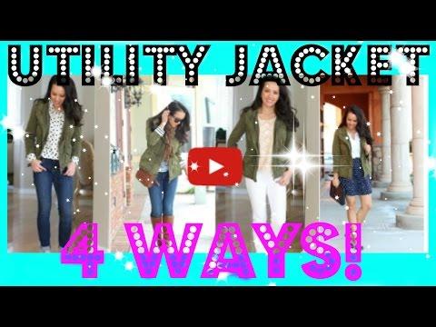 HOW TO: Wear a Utility Jacket Four Ways