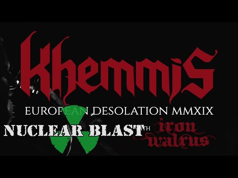 KHEMMIS - European Desolation Tour (OFFICIAL TRAILER)