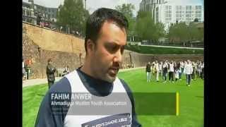 ITV News - Ahmadiyya Muslim Charity Run for Queens Diamond Jubilee.mp4
