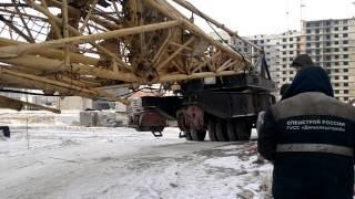Перевозка башенного крана(Перевозка башенного крана #Хабаровск., 2016-02-09T12:09:32.000Z)