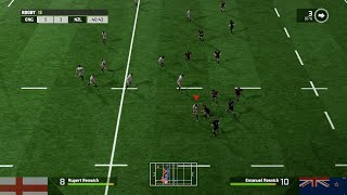 Rugby 15 - England vs New Zealand PC Gameplay Full HD