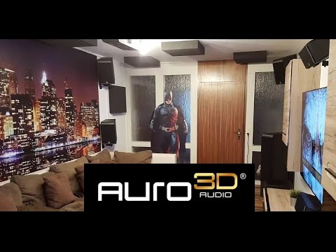 My Auro 3d 11 1 Home Theater 2016 Youtube