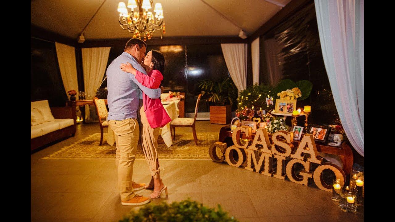 Jantar romântico em Gramado - Pedido de Casamento Surpresa