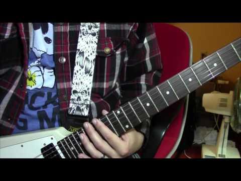 Guitar Lesson - Silverchair - Cicada
