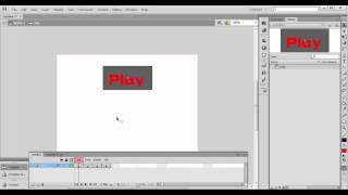 How to make buttons in flash cs6