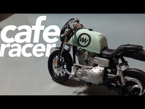 Harley Davidson  Di Jadi In Cafe Racer (scale Model)