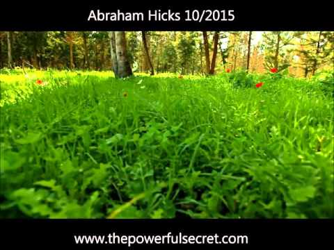 Abraham Hicks 10/2015 clip is the best explanation of Law of Attraction I've heard
