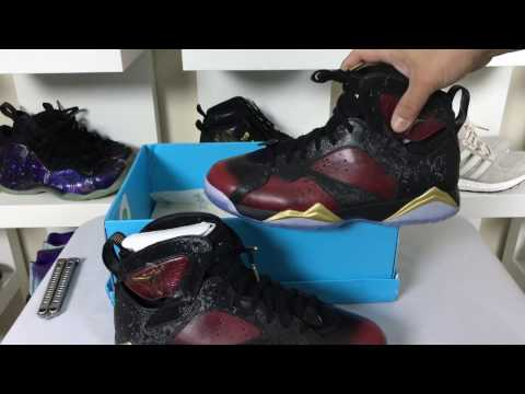 AIR JORDAN 7 VII RETRO DOERNBECHER UNBOXING!