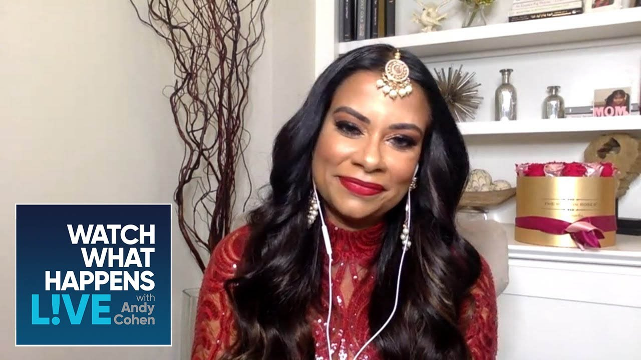 Anila Sajja Fires Back at Dr. Heavenly Kimes' Blogging Comment | WWHL