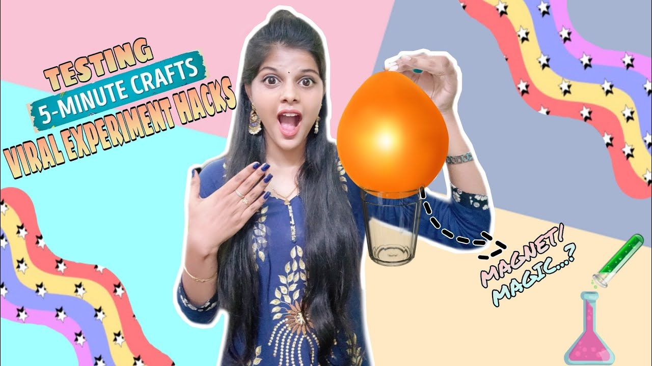 TESTING OUT VIRAL EXPERIMENT HACKS by 5 minute crafts [TAMIL]