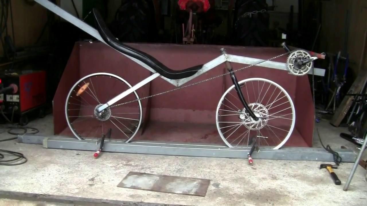 Diy Swb Recumbent Bike 3 Porkkana Youtube