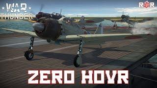 Zero Hour (including 7 Kill Epic Game)   Mitsubishi Zero Gameplay/Review   War Thunder 1.85