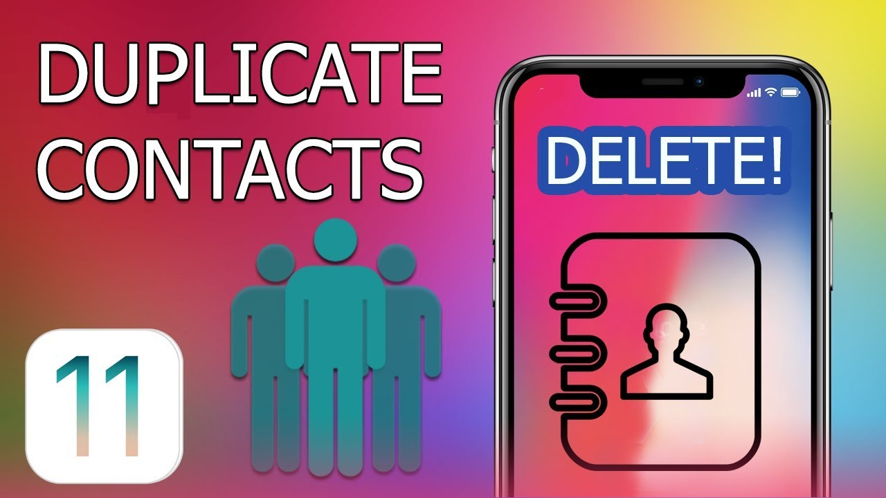 delete multiple contacts iphone how to delete duplicate contacts on iphone and with 3787
