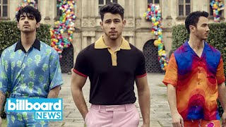 Baixar Jonas Brothers Hit No. 1 For the First Time on Billboard Hot 100 With 'Sucker'   Billboard News