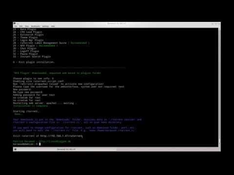 Rtorrent + Rutorrent Auto install script - LinuxBloggen dk