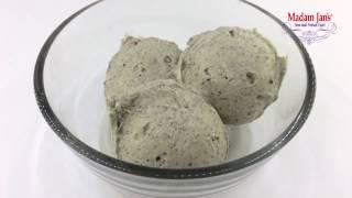【Madam Jan's】黑芝麻優格冰淇淋