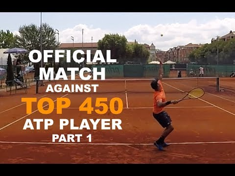 Official Tennis Match Vs Top 450 ATP Player - Futures $15k | PART 1 (TENFITMEN - Episode 83)