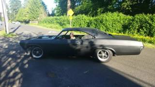 65 impala ss hitting the road