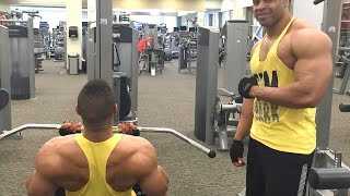 Back & Biceps Workout to Gain Muscle Mass @hodgetwins