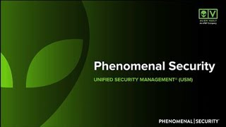 Phenomenal Security with AlienVault®