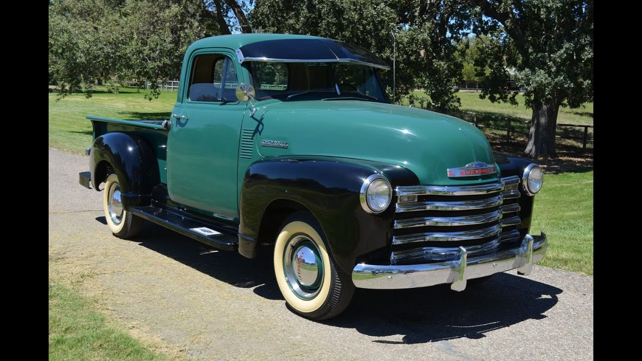 1956 chevy panel truck  YouTube