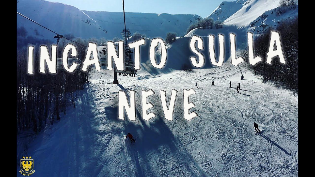 Incanto sulla neve del monte cimone!