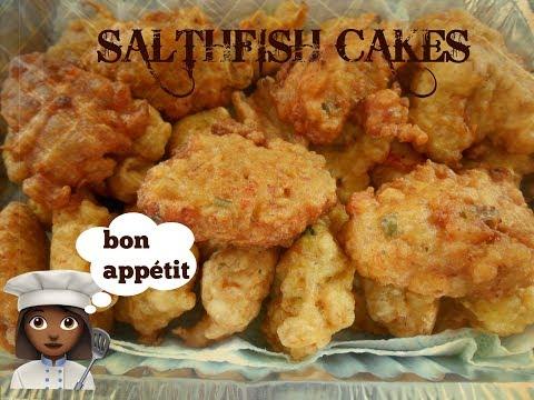 Saltfish Cakes Caribbean Style   IamSarine