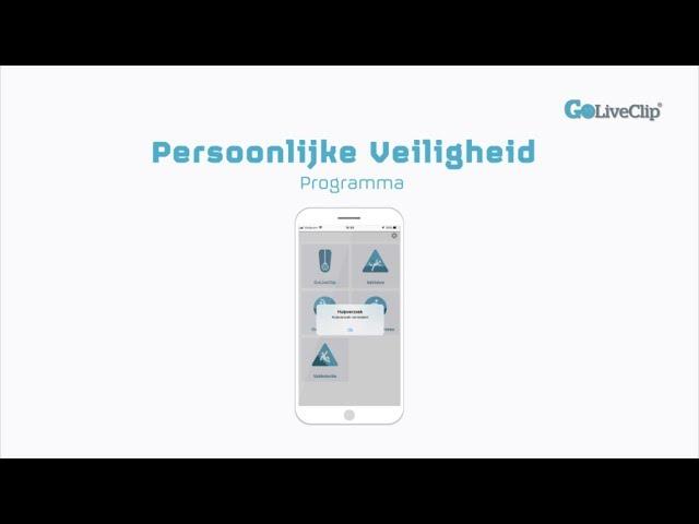 iOS Persoonlijke Veiligheid