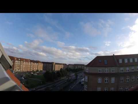 Sirenevarsel i Aarhus C (Harald Jensens Plads) 8. August 2016