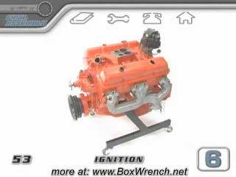 283 Chevy Engine Wiring Diagram Engine Ignition Wiring Distributor Amp Spark Plugs Video