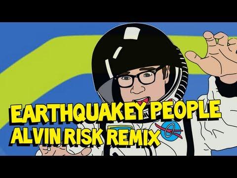 Earthquakey People (Alvin Risk Remix) - Steve Aoki ft. Rivers Cuomo AUDIO