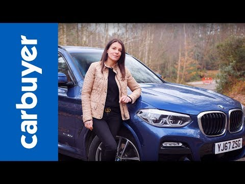 2018 BMW X3 SUV review - Ginny drives the best X3 yet - Carbuyer