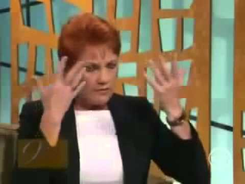 Pauline Hanson STOPPING MUSLIM IMMIGRATION TO AUSTRALIA?