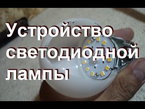 Характеристики и устройство светодиодных ламп