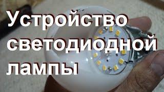 Устройство светодиодной лампы.(Как устроена светодиодная лампа и из каких основных элементов состоит, как выглядит драйвер и вообще что..., 2014-07-14T15:51:55.000Z)